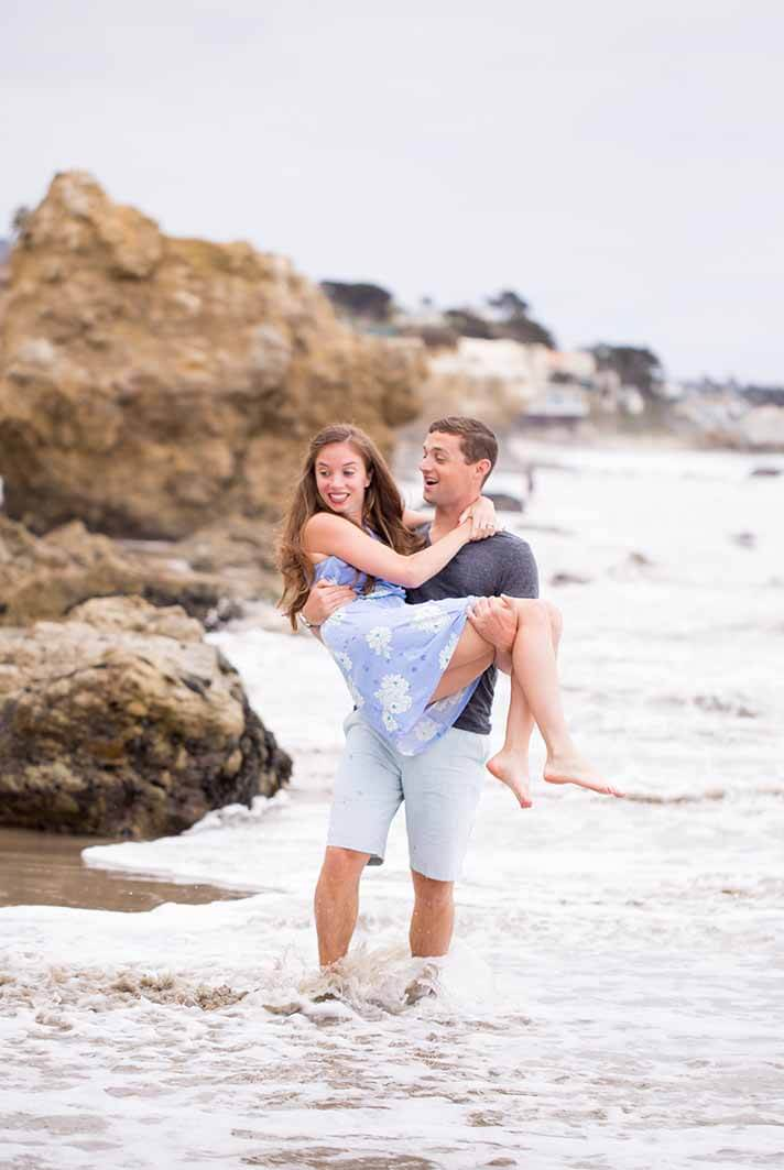 Surrey Engagement Photographer | Pre-Wedding Session on the Beach | Philippa Sian Photography