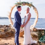 Destination Wedding Photographer Menorca Wedding Ceremony Hoop
