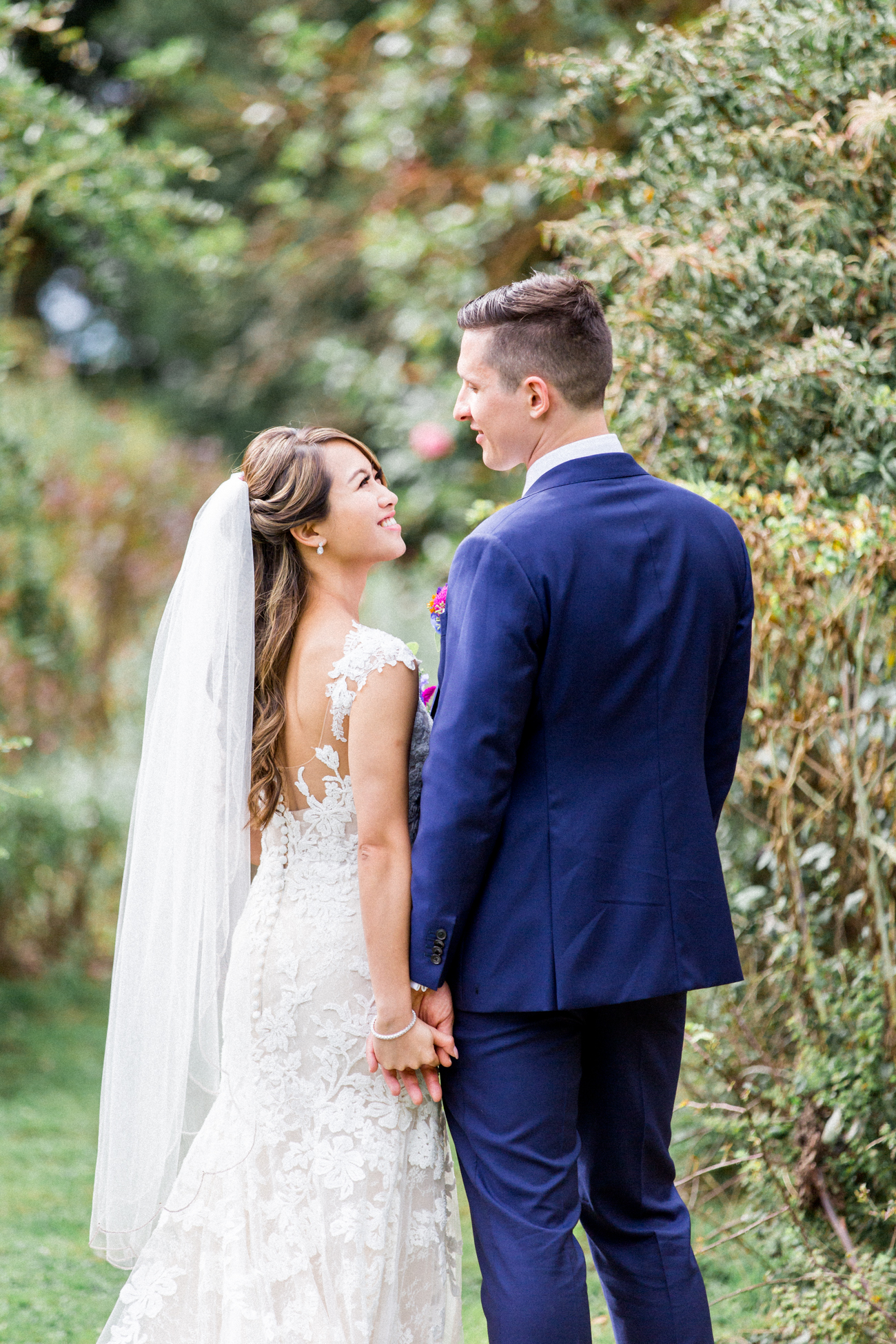Bride and Groom Portrait | Natural Wedding Photographer Surrey | Philippa Sian Photography