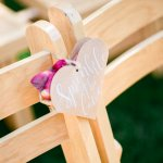 Sprinkle The Love Confetti Lilac & Grey table linen Summer Wedding Millbridge Court Surrey