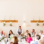 Speeches Lilac & Grey Summer Wedding Millbridge Court Surrey