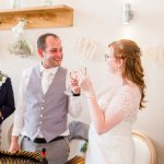toasts Lilac & Grey Summer Wedding Millbridge Court Surrey