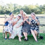 double parked wedding guests Lilac & Grey Summer Wedding Millbridge Court Surrey