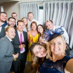 Guest selfie Lilac & Grey Summer Wedding Millbridge Court Surrey