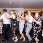 Dancing Guests Lilac & Grey Summer Wedding Millbridge Court Surrey