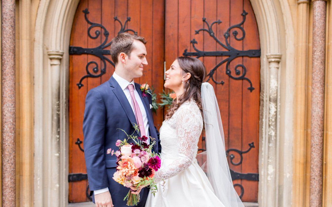 Autumn Wedding at Fulham Palace