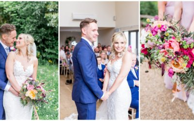 Bright Summer Florals Millbridge Court Wedding